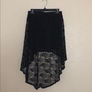 Beautiful Charlotte Russe high low skirt!